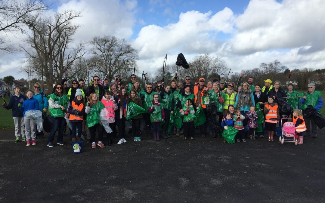 Photos from the Big Branksome Clean Up!