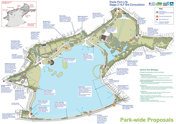 Poole Park Life - park-wide proposals
