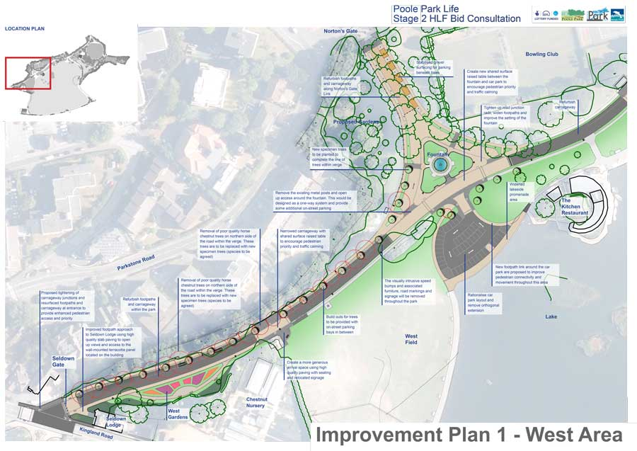 Improvement Plan 1 - West Area
