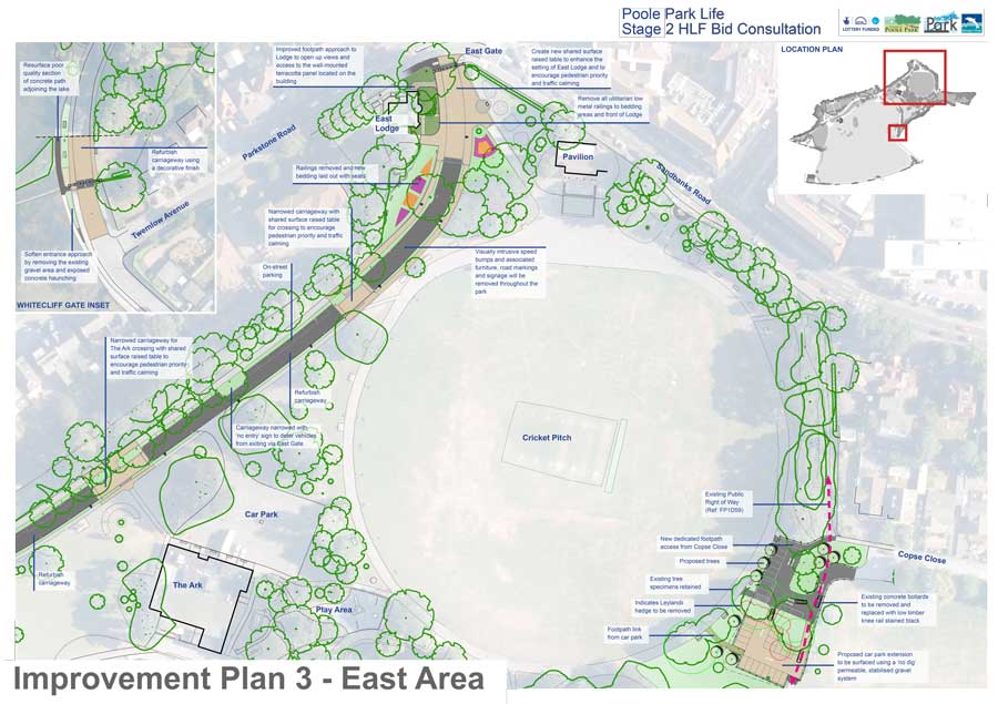 Traffic Improvement Plan 3 - East Area