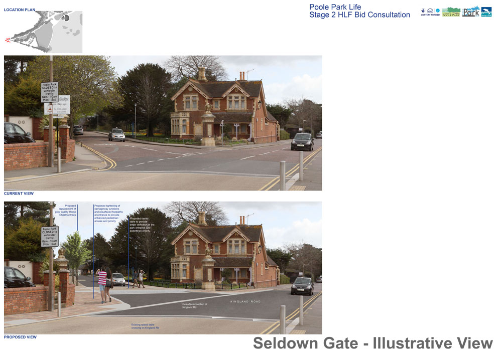 Seldown Gate Entrance