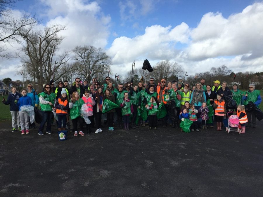 Big Branksome Clean Up - Group
