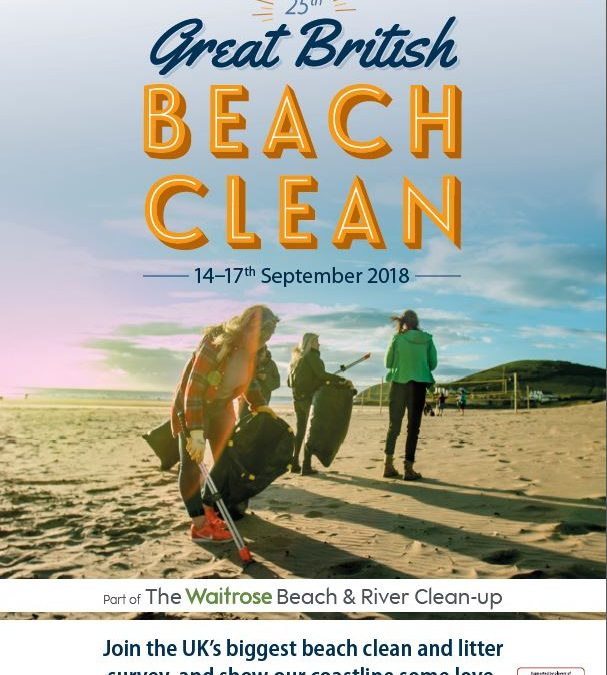 The 25th Great British Beach Clean