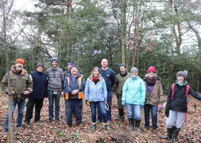 Eighteen Trees Get Planted At Blake Hill Viewpoint!
