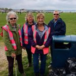 Litter Pick with the Whitecliff Harbourside Park Volunteers