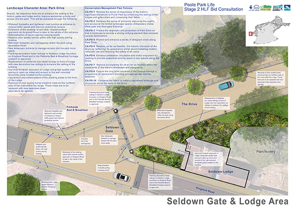 Seldown Gate & Lodge Area
