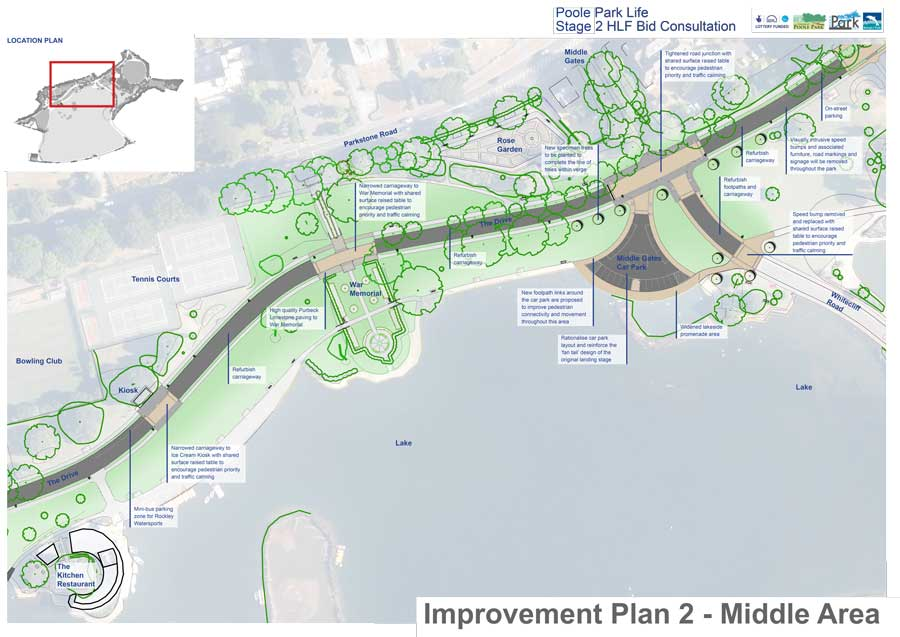 Improvement Plan 2 - Middle Area