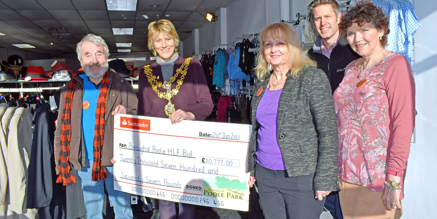 Generous Friends support the bid with £20,777