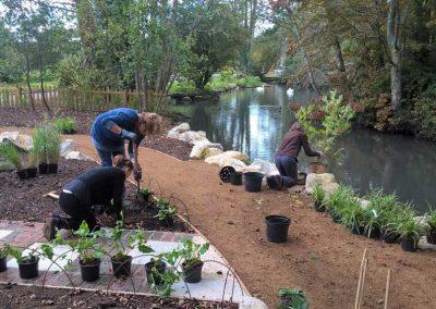 Poole Park Volunteers / the new Quiet Garden