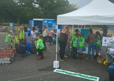 Fun, informative activities on Lagoon Volunteer Day