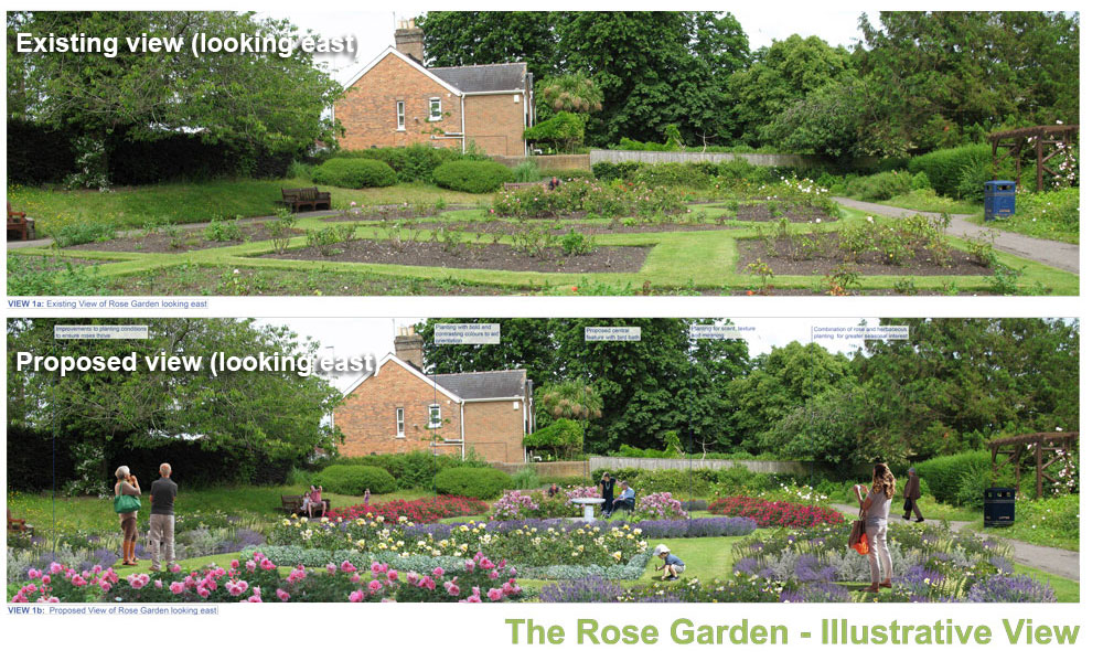 Changes to the Rose Garden