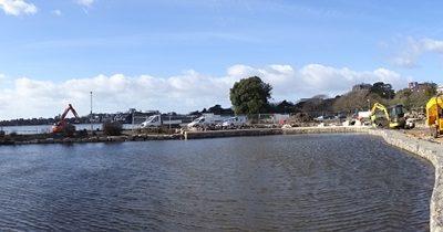 Week 9. Lakes, Lagoon and Sluice Bridge Update