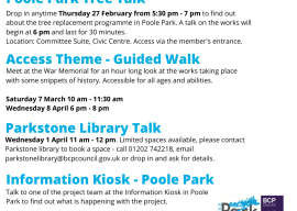 Find out more about the Poole Park Access works