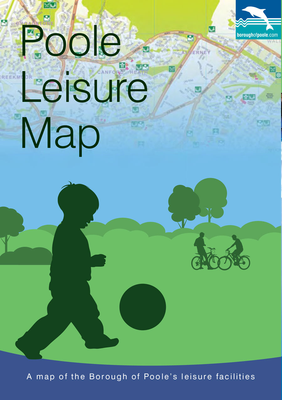 Map Of Poole Poole Leisure Map   Poole Projects
