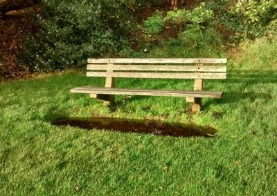 Poor provision of benches