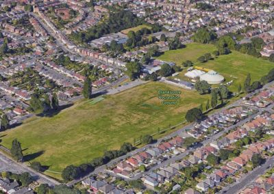 Branksome Rec in the most densely populated ward in Poole