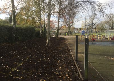 Space for natural play & a picnic area, November