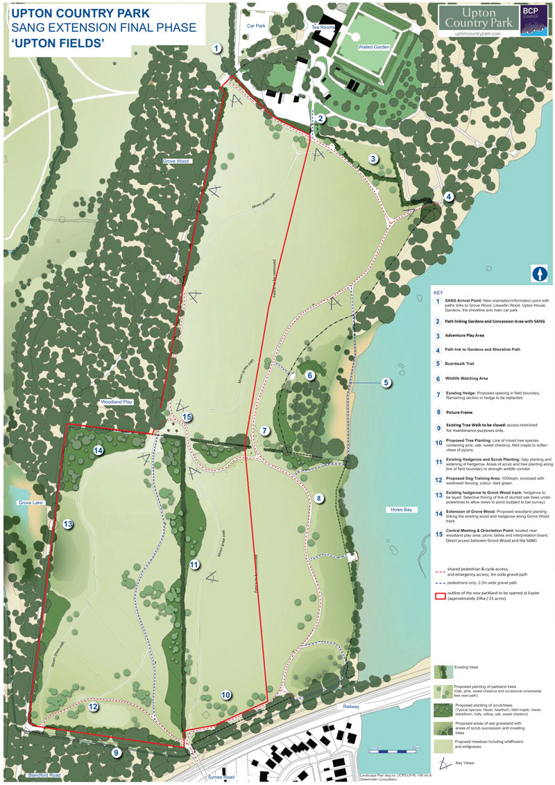Download the Final Phase 'Upton Fields' map (pdf)