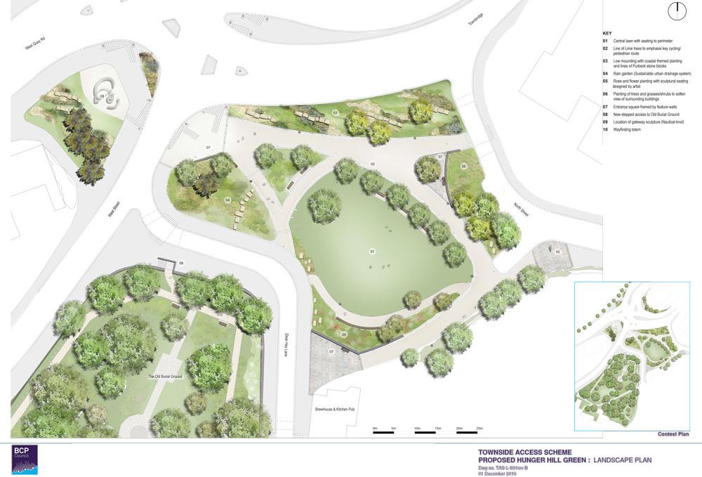 Hunger Hill Landscape Plan (pdf, opens in a new window)
